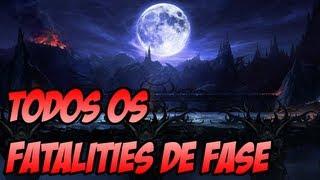 Mortal Kombat 9 - Fatality de fase Todos