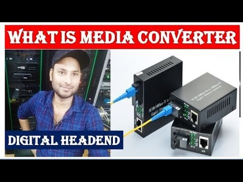 what is use of Media converter in Digital headend || Media converter use in  Cable tv   by Information Collection