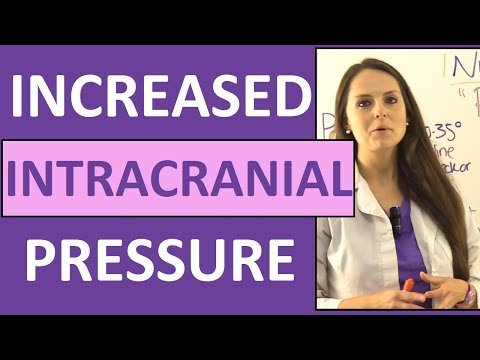 Increased Intracranial Pressure Nursing Pathophysiology NCLEX Symptoms (Cerebral Perfusion Pressure)