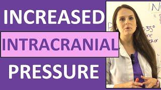 Increased Intracranial Pressure Nursing Pathophysiology NCLEX Symptoms (Cerebral Perfusion Pressure)