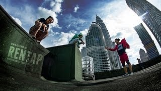 Parkour Malaysia - 3RUNmy Family: Rooftop Party