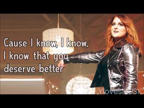 Meghan Trainor  I Wont Let You Down Lyrics