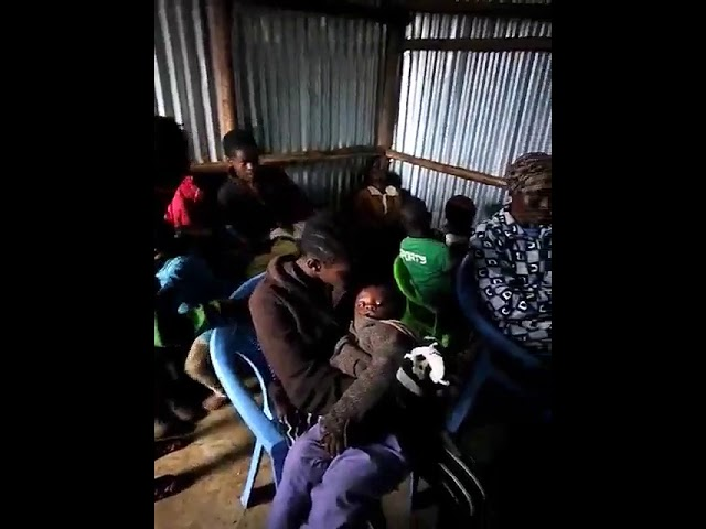 Teaching in the Book of Matthew 9:20-22 Kibera Slum Kenya