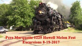 Pere Marquette 1225 Howell Mellon Fest Excursions 8-19-2017