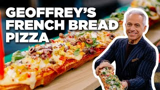 Italian Deli-Style French Bread Pizza with Geoffrey Zakarian | Food Network