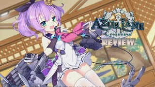 Azure Lane: Crosswave (Switch) Review (Video Game Video Review)