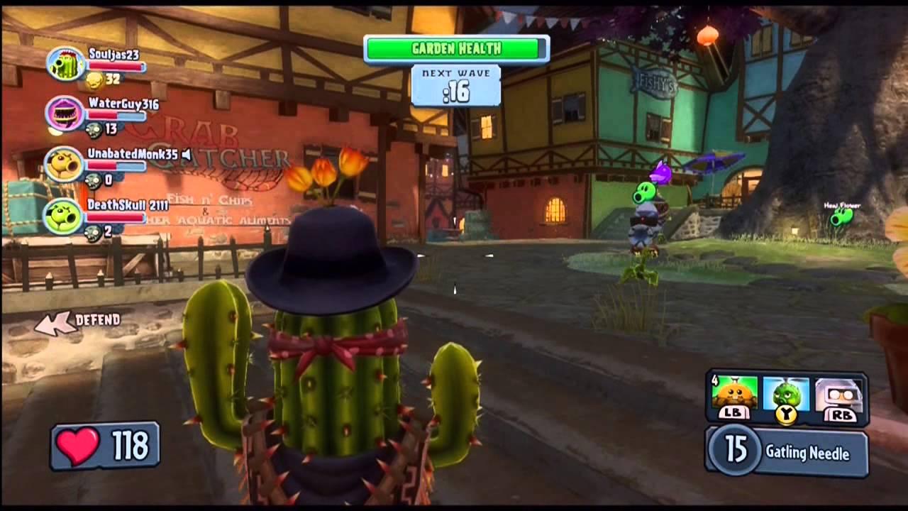Plants Vs Zombies Garden Warfare Garden Ops Port Scallywag Bandit Cactus