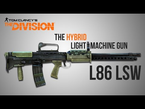 The Division Weapon Guide - L86 LSW Remake (Statistics, Mods, Talents and Set-Up)
