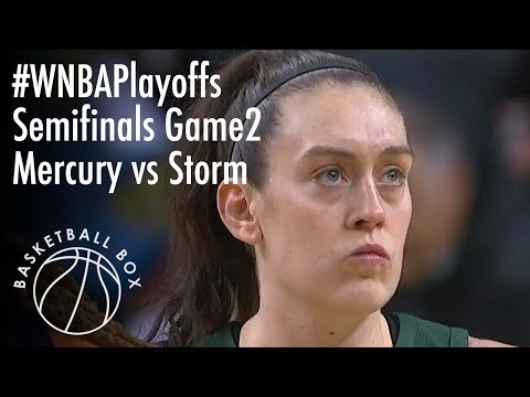 [WNBA Playoffs Semifinals Game2] PHX Mercury vs SEA Storm, Full Game Highlights, August 28, 2018