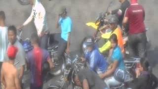 Colectivos armados accionando en paralelo con la Policía en Ciudad Ojeda.