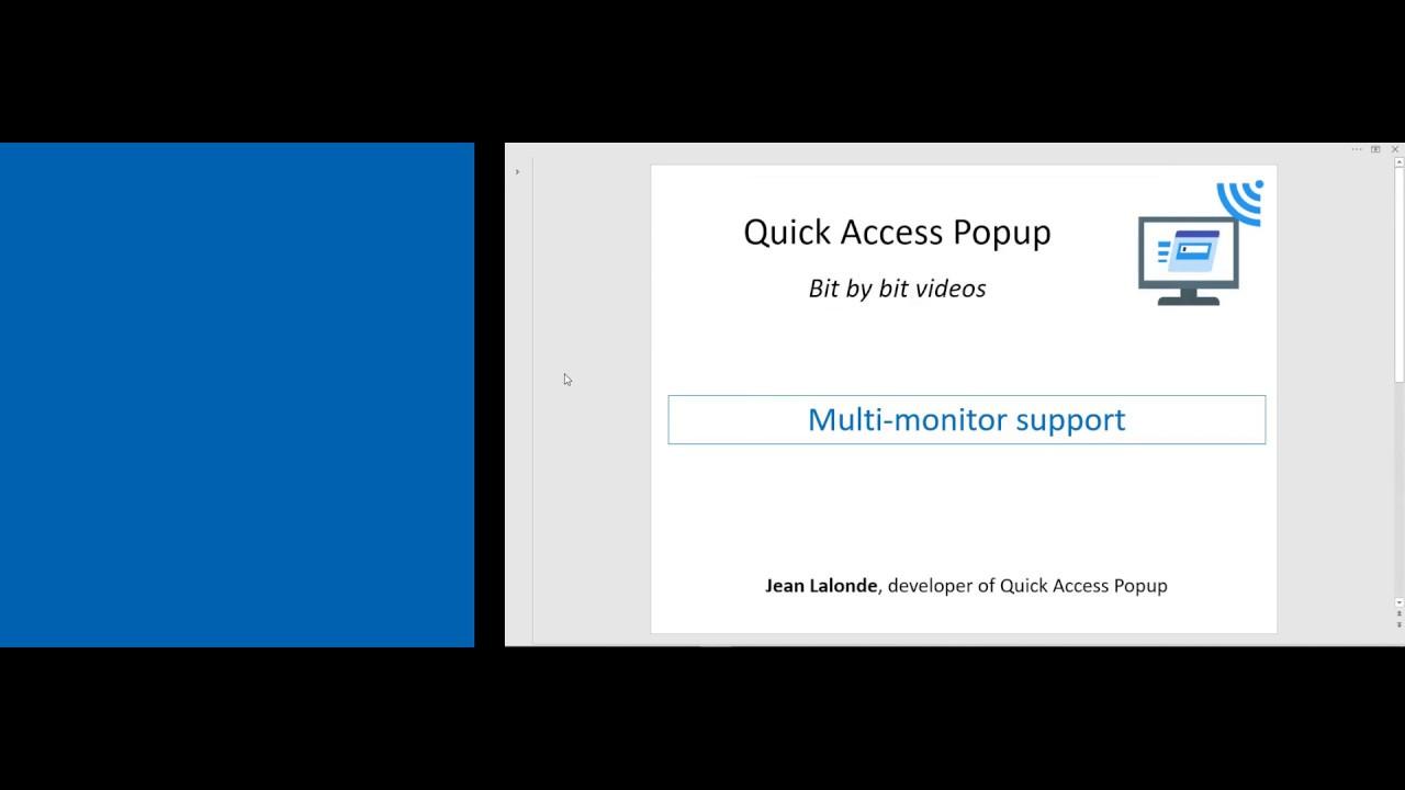 FAQ – Quick Access Popup