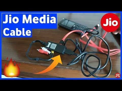 Jio Media Cable Price | Where to Buy Jio Media Cable | Jio Phone TV Cable