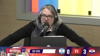 Martín de Francisco y su comentario después de la goleada a Argentina