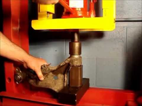 Volvo Control Arm Bushing Tool Fbi Youtube