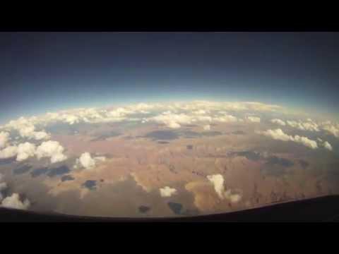 GoPro Cockpit Flying Timelapse