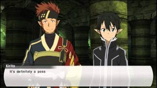 Sword Art Online: Lost Song English Vita Gameplay