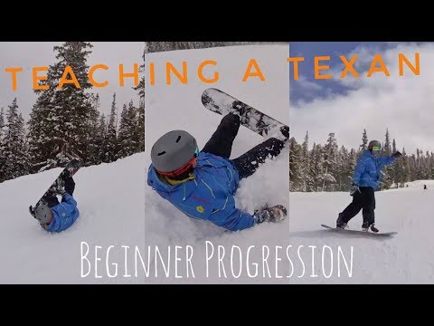 What to Expect First Time Snowboarding - Beginner Progression