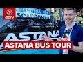 Astana Cycling Team Bus Tour | Giro d'Italia 2019