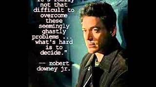 Robert Downey Jr - Hannah