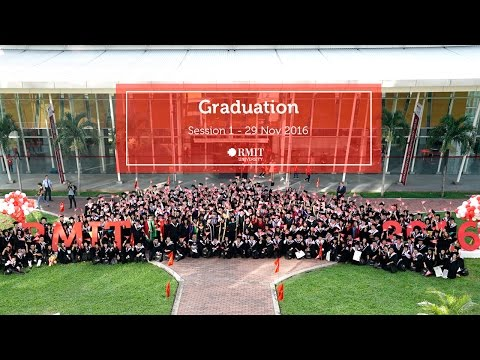 RMIT Vietnam Graduation 2016 - Session 1 (SGS campus)