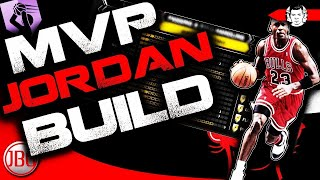 NBA 2K18 BEST ALL AROUND Archetype for MyCAREER - MVP MICHAEL JORDAN BUILD