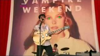 Vampire Weekend - Giving Up The Gun@Glastonbury 2010