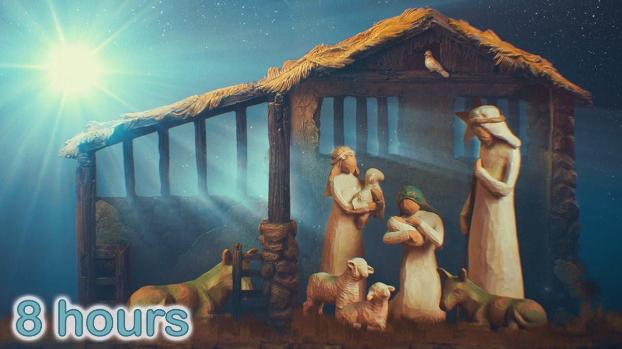 ☆ 8 HOURS ☆ CHRISTMAS MUSIC ♫ Christmas Music Instrumental HARP ...