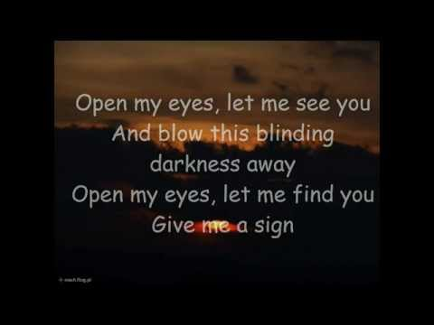 The Rasmus - Open My Eyes Lyrics