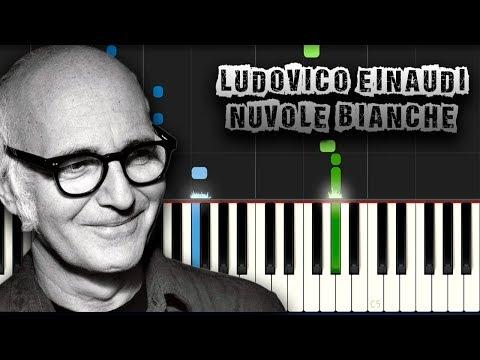 Ludovico Einaudi - Nuvole Bianche - [Piano Tutorial] (Synthesia) (Download MIDI + PDF Scores)
