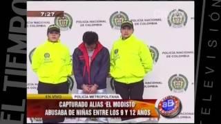 """Alias """"El Modisto"""" fue capturado por abuso sexual infantil   CityTv   Arriba Bogotá  Febrero 2"""