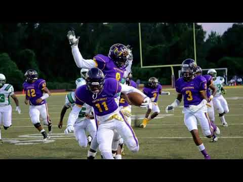 2017 Hattiesburg High School Tigers Highlights