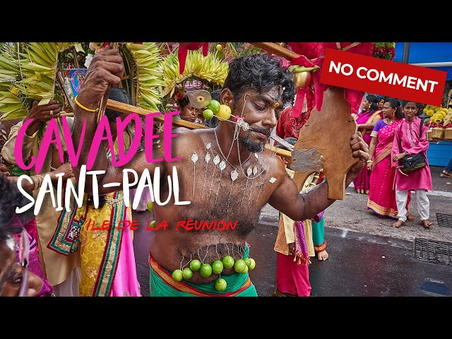 Kavadi - Cavadee Saint-Paul 2017