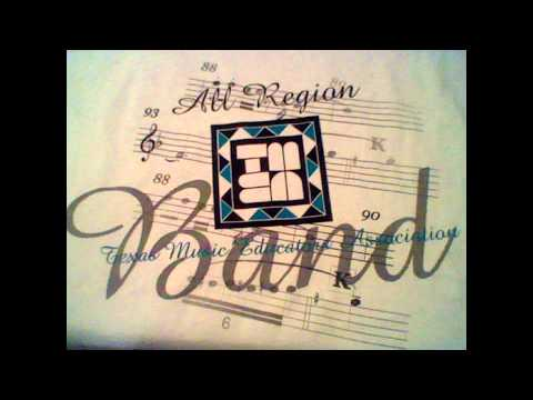 """""""Chant and Savage Dance"""" Texas Region 17 All-Region Symphonic Band 2011-2012"""