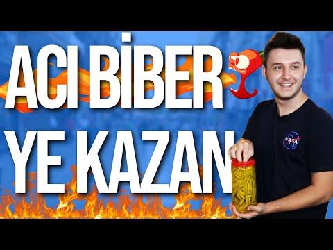 YE KAZAN #4  | 50 TANE ACI BİBER YEDİ !! |