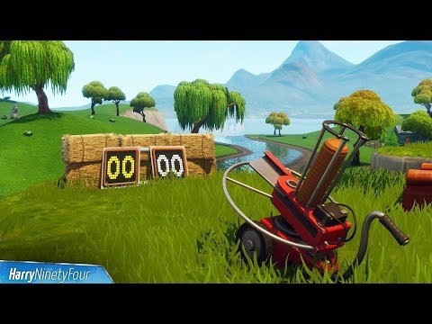Fortnite Battle Royale - All Clay Pigeon Locations Guide (Season 6 Challenge)