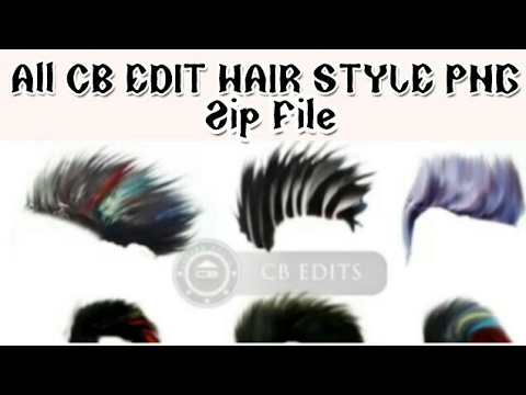 All Cb Hair Style Png Download Zip File Thanks To Picsart Lover