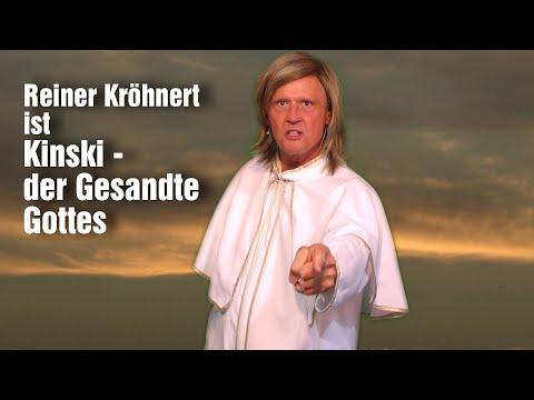 Kinski - der Gesandte Gottes - Reiner Kröhnert ist Klaus Kinski