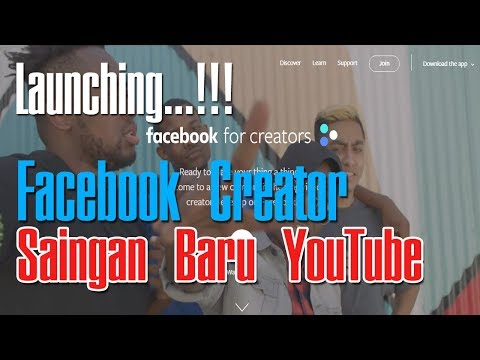 FACEBOOK FOR CREATOR Hadir, Saingan Baru YOUTUBE Untuk Monetisasi Video