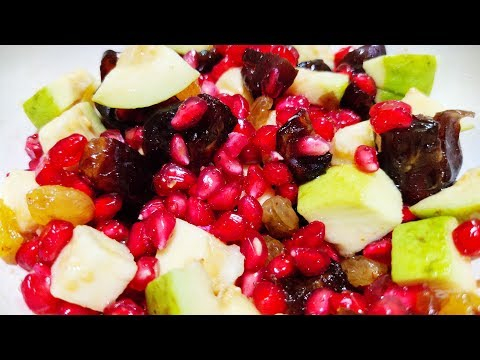 Simple Iron Rich Fruit Salad Recipe   Mixed Fruits Salad To Combat Iron Deficiency Anemia