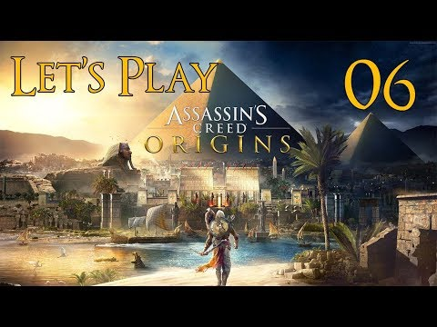 Assassin's Creed Origins - Let's Play Part 6: Temple of Sekh