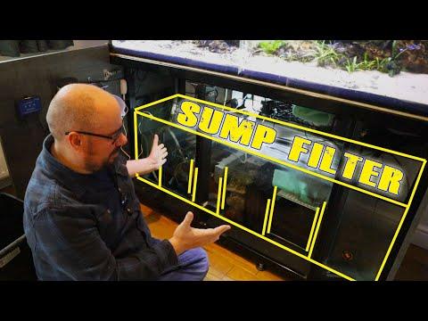 Freshwater Aquarium Sump - Discus filter