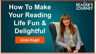 TRJ #4. Anne Bogel: How To Make Your Reading Life Fun & Delightful