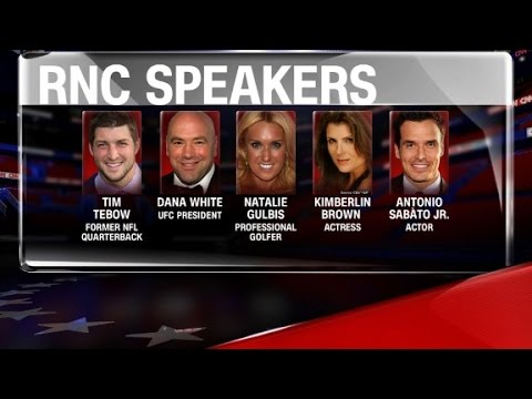 GOP reveals speakers for Repulican National Convention