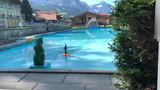 스위스 융프라우 야외 수영장