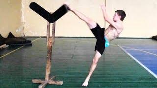 Как научиться делать вертушку / 5 лучших упражнений для удара ногой с разворота