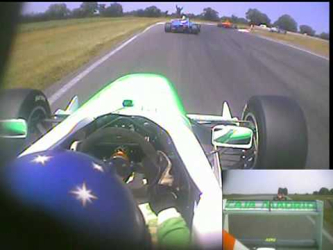 Jordan Williams Crash FPA Snetterton (Onboard with Pineiro)