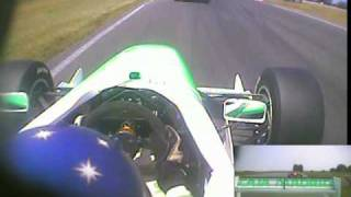 Jordan Williams Crash FPA Snetterton (Onboard with Pineiro)