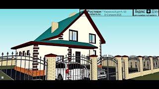 Проект каркасно-щитового дома 10х9 #проект #деревянныйдом #стройка #ремонт #дизайн #архитектура