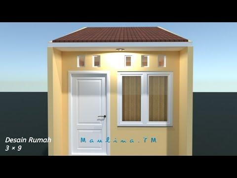menata ruang di rumah kontrakan 3 petak ukuran 3×9