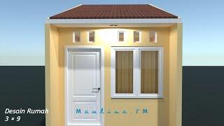 Menata Ruang Di Rumah Kontrakan 3 Petak Ukuran 3 9 Desain Interior Planner 5d Youtube